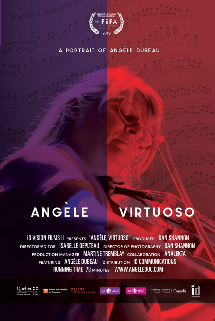 Angele Dubeau - Angèle Virtuoso documentary
